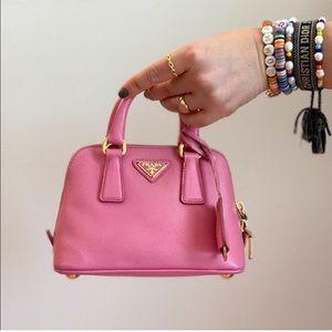 Prada Saffiano Mini Bag / Prada Pink Micro bag